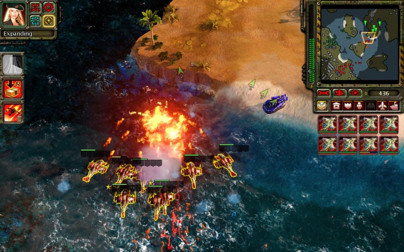 Скриншот C&C: Red Alert 3