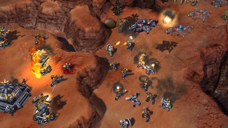 Скриншот Starcraft 2