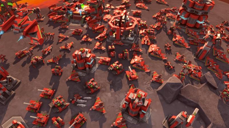 Скриншот Planetary Annihilation